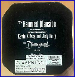Disneyland Haunted Mansion Crypt Candelabra Kidney Daily 40th Anniv 2009 LE 500