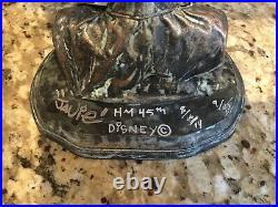 Disneys Haunted Mansion 45th Anniversary Ezra Bust Javier Soto LE 9/45 Signed