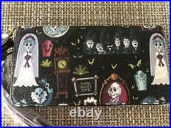 Dooney & And Bourke Disney Haunted Mansion Wallet Nwt