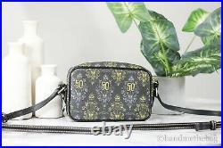 Dooney & Bourke Disney Haunted Mansion 50th Anniversary Camera Crossbody Handbag