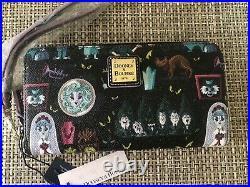 Dooney & Bourke Disney Haunted Mansion Wallet Nwt