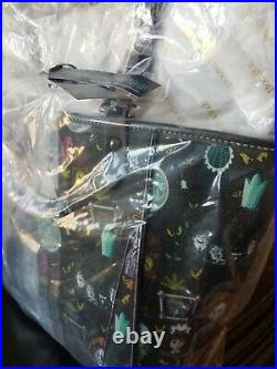 Dooney & Bourke Disneyland Haunted Mansion Janie Tote NWT Never Out of Packaging