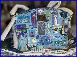 Dooney and Bourke Disney Haunted Mansion Crossbody BNWT -Exact Placement