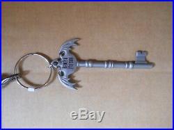 EUC Disney Dooney & Bourke Haunted Mansion Gray Wallpaper Crossbody HM Key Chain