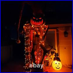 FULL SIZEHaunted Mansion Holiday SCARECROW JACK Nightmare beforexmas see video