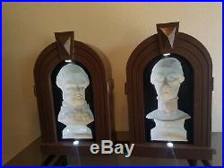 FULL SIZE Haunted Mansion Following Busts with Ride Accurate Frames! SEE VIDEO