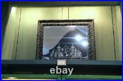 Framed Haunted Mansion Mirror Rare Disney Parks Ghosts