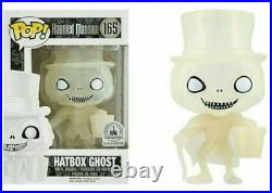 Funko POP! Hatbox Ghost #165 Haunted Mansion Disney Parks EXCLUSIVE