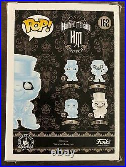 Funko POP Haunted Mansion Phineas #162 Disney Parks Exclusive