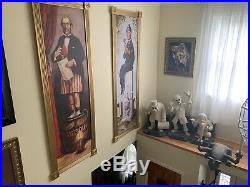 GIANT Disney Haunted Mansion Stretching Paintings Set on canvas- 6 FEET TALL
