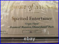 HAUNTED MANSION 40th ANNIVERSARY ORGANIST WALT DISNEY CLASSICS COLLECTION WDCC