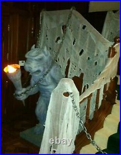 Halloween Disney Haunted Mansion Film Prop Giant Gargoyle
