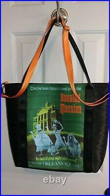Harveys Seatbelt Disney Disneyland 60th Anniversary Haunted Mansion Poster Tote