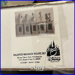 Haunted Mansion 5 Pillar Bust Set Anniversary Figures Disney Parks HALLOWEEN NEW