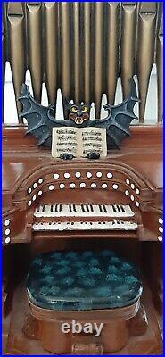 Haunted Mansion Bat Organ Disney Happy Haunts 2004 Resin Figure