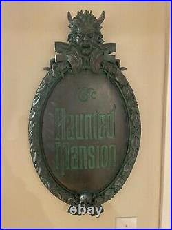 Haunted Mansion Disney Parks Disneyland Sign Prop Limited Edition Very Rare