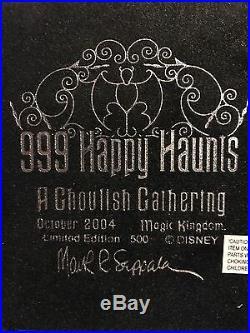 Haunted Mansion Gargoyle 999 Happy Haunts Limited Edition 500
