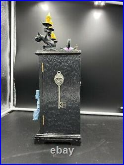 Haunted Mansion Ghost Jewelry Box Clock Art By Aaron Goodwin 1/1 Painting 15x9