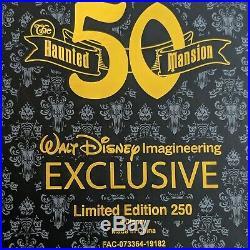 Haunted Mansion Super Jumbo Pin 2019 Disney 50th Anniversary D23 WDI MOG LE 250