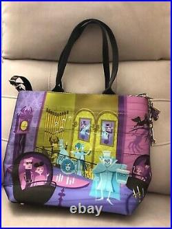 Havveys Disney Haunted Mansion Seatbelt Medium Tote Bag