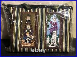 In Hand Harveys Haunted Mansion Vertical Medium StreamLine VSL Tote Bag Purse