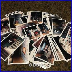Lot Of 160 Disney World Haunted Mansion Vintage Backstage Photos Prop