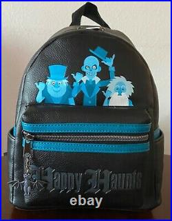 Loungefly Disney The Haunted Mansion Hitchhiking Ghosts Mini Backpack