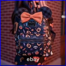 NEW 2021 Disney Parks Mickey Halloween Loungefly Backpack