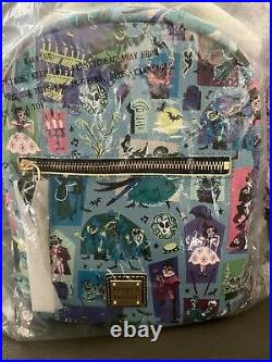NEW Disney Parks Dooney and Bourke The Haunted Mansion 2020 Mini Backpack New