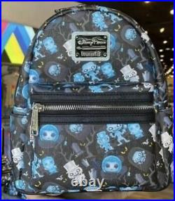 NEW Disney Parks Haunted Mansion 2021 Loungefly Mini Backpack Random Placement