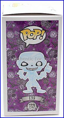 NEW Disney Parks Haunted Mansion Ghost EZRA 163 Vinyl POP! Figurine ERROR BOX