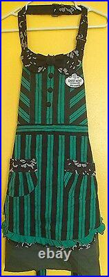 NEW Disney Parks Haunted Mansion Maid Ghost Host Hostess Apron Costume One Size