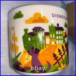 NEW Starbucks You Are Here Mug Disneyland Haunted Mansion New Orleans