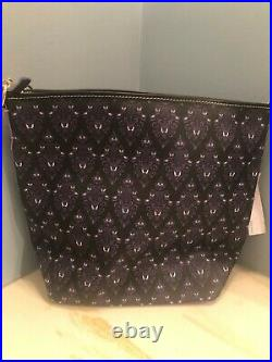 NEW with Tags. Disney Parks Haunted Mansion Wallpaper Dooney & Bourke Hobo Bag