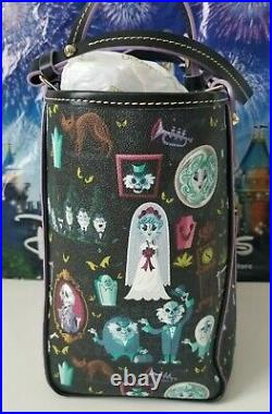 NWT Disney Dooney and Bourke Haunted Mansion 2018 Tote Retired HARD TO FIND