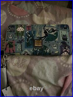NWT Disney Dooney and Bourke Haunted Mansion Wallet