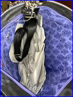 NWT Disney Harveys Haunted Mansion Seatbelt Medium Streamline Tote Bag And Coin