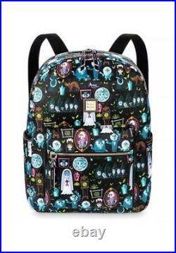 NWT Disney Parks Dooney & Bourke Haunted Mansion Nylon Backpack Leota Bride