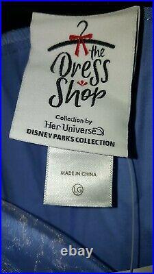 NWT Disney The Dress Shop Haunted Mansion Dress Large