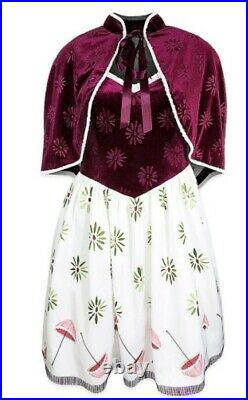 NWT Disney Womens Dress Her Universe Haunted Mansion Tightrope Walker 2 Piece