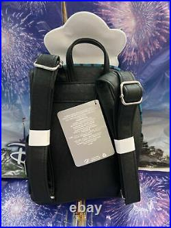 NWT Loungefly Disney Parks Haunted Mansion Ghost Host Maid Backpack Card Holder