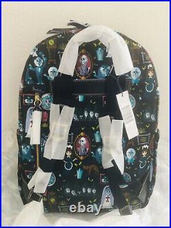 New Disney Dooney & Bourke Haunted Mansion Backpack Hitchhiking Ghost 2019 Nylon