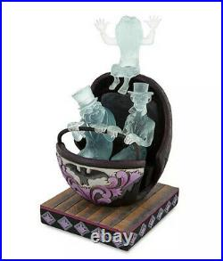 New Disney Jim Shore Haunted Mansion 50th Hitchhiking Ghosts Doom Buggy Figurine