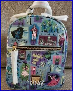 New! Disney Parks 2020 Dooney & Bourke Haunted Mansion Backpack
