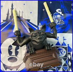 New Disney Parks Exclusive Haunted Mansion Gargoyle Light Up Figurine Statue 14