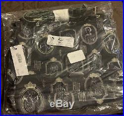 New Dooney & Bourke Disney Haunted Mansion Black Crossbody Bag Purse