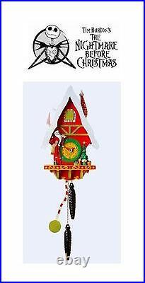 Nightmare Before Christmas Christmastown Cuckoo Clock