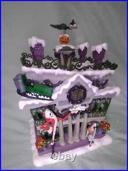 Nightmare Before Christmas Disneyland Haunted Mansion Christmas Village Rare