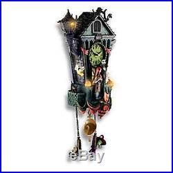 Nightmare Before Christmas Halloween Town Cuckoo Clock New