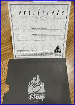 Olszewski Disneyland Haunted Mansion with 3 scenes Brand New